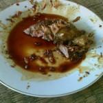 ayam bakar kecap...yg tersisa