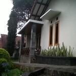 teras depan bungalow