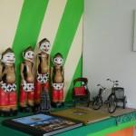 punakawan, maskot dinas pariwisata dalam pameran
