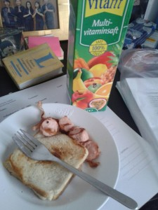 Makan dulu sebelum belajar