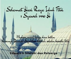 Selamat Idul Fitri 1 Syawal 1440 H (3)