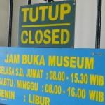 jam buka Museum